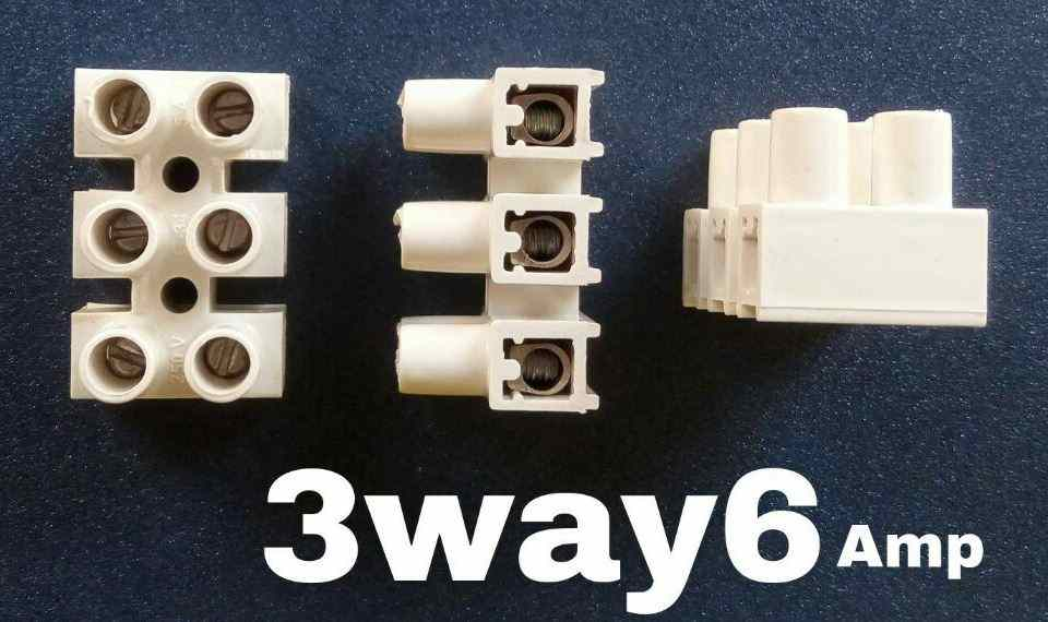 Manufacturer and Supplier of wiring Connector 3 way 6 amps in Mumbai ...