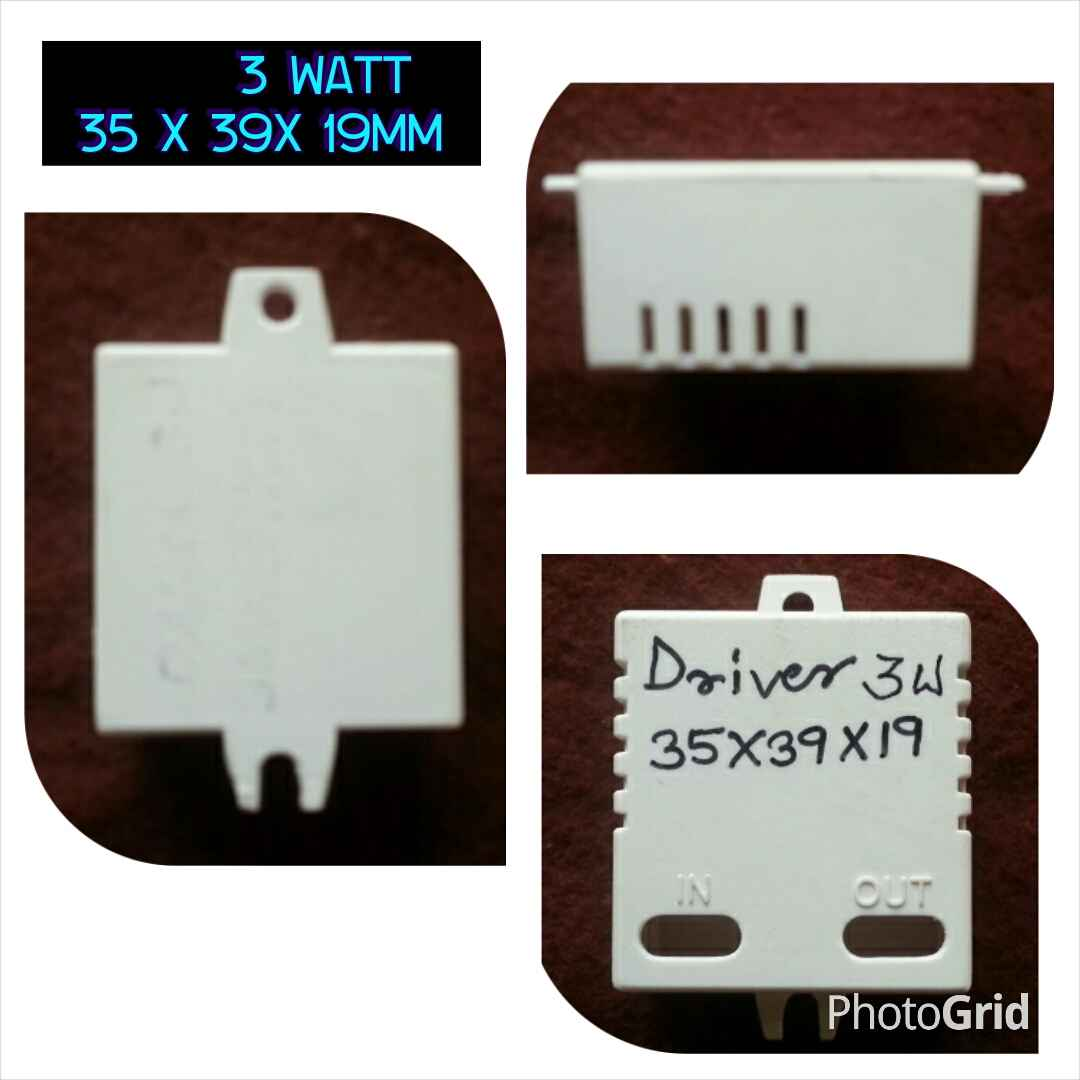 Manufacturer and Supplier of Led Driver Housing 3 watts square in ...